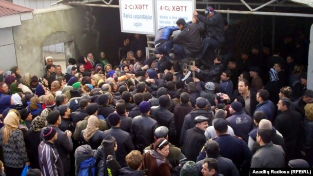 Astara Gömrük Keçid Məntəqəsi, 2012