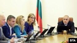 Архивска фотографија- дел од министрите на седница на бугарската влада