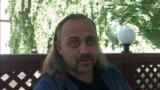 Журналист из Украины Александр Гороховский, редактор сайта «Без брехні» и автор пособия о фактчекинге и противодействии дезинформации. Уральск, 15 сентября 2018 года.