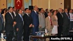 Бөтендөнья кырымтатар конгрессы делегатлары