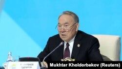 Gazak prezidenti Nursultan Nazarbaýew