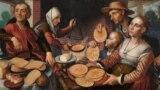 Пітэр Брэйгель Старэйшы «Мужыцкае вясельле» (1567)
