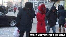 Ղազախստան - Մայրաքաղաք Աստանայում աննախադեպ ցուրտ է, 24-ը հունվարի, 2018թ․
