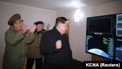 Лидер Северной Кореи Ким Чен Ын (архивное фото)