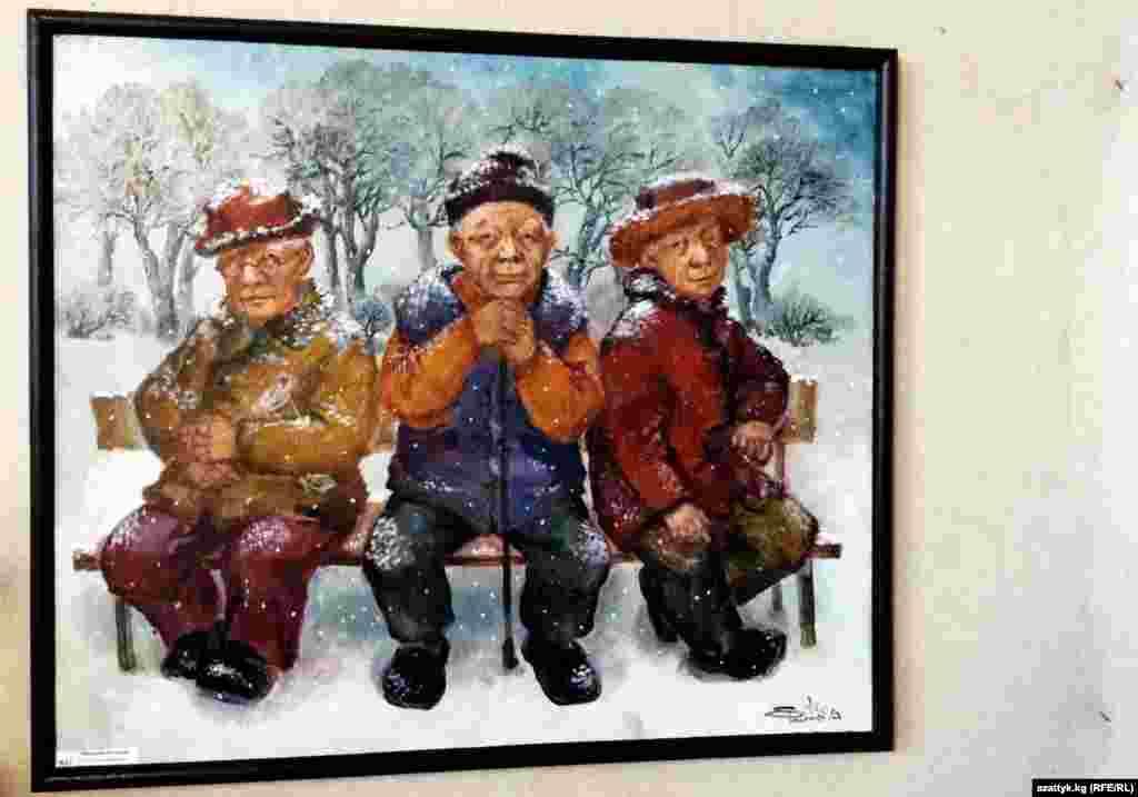 """Халида - этническая дунганка. Еще ребенком она переехала со своей семьей в Кыргызстан из Синьцзян-Уйгурского автономного района в Китае. """"Дунганская тема"""" получила свое отражение в творчестве художницыи средствах передачи на холст ее внутреннего мира."""