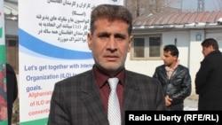 آرشیف، معروف قادری رئیس اتحادیه سراسری کارگران افغانستان