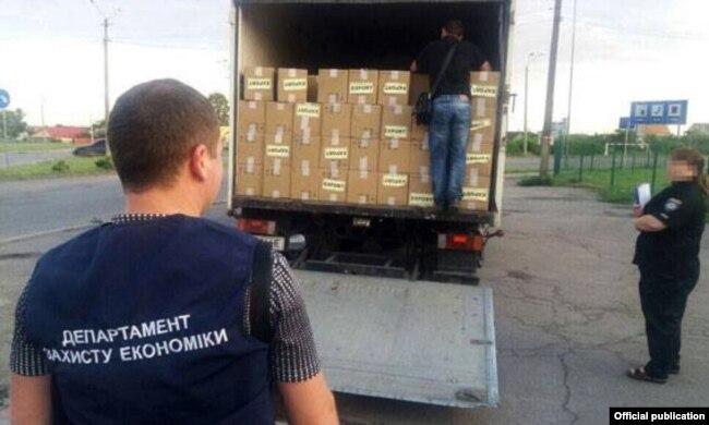 В Украине раскрыли схему контрабанды табака из Беларуси в Европу