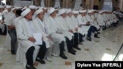 Оңтүстік Қазақстан облысының имамдары форумы. Шымкент, 12 шілде 2016 жыл.