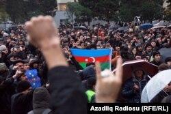 Антыўрадавыя пратэсты ў Баку