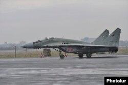 Российский МиГ-29, иллюстрационное фото