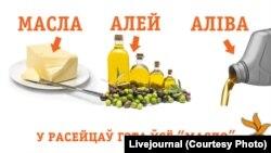 Масла, алей, аліва
