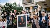 Belarus — Strike of Belarusian artists in Minsk, 13Aug20