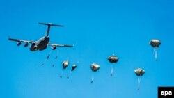 Polşada NATO qüvvələrinin hərbi təlimi