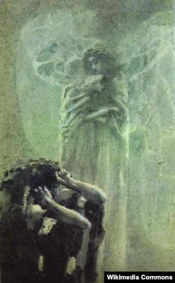 Михаил Врубель. Демон и Ангел