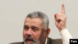 اسماعیل هنیه درهنگام ورود به غزه مورد حمله قرار گرفت.