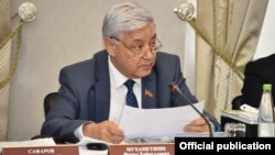 Спикер Госсовета Татарстана Фарид Мухаметшин