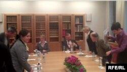 Мялахят Насибова встречается с премьер-министром Норвегии