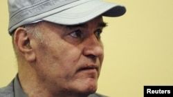 Former Bosnian Serb commander Ratko Mladic
