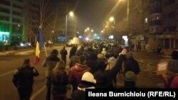 Antivladin protest, Rumunija