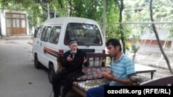 Shahrixonlik urush fahriysi Yo'ldosh Turg'unov.