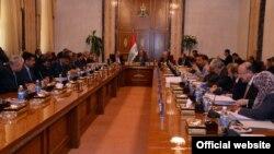 إجتماع لمجلس الوزراء برئاسة نوري المالكي