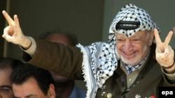 Палестина автономиясының бұрынғы жетекшісі Ясир Арафат. Рамалла, 13 қыркүйек 2003 жыл. (Көрнекі сурет).