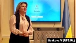 Ольга Перебийніс, богемістка та дружина посла України в Чехії Євгена Перебийніс