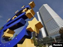 Banka Qendrore Evropiane në Frankfurt, Gjermani.
