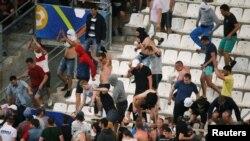 France-- Tifozë të futbollit pas ndeshjes Angli-Rusi, 11 qershor 2016