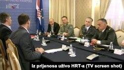 Sastanak premijera Hrvatske sa prosvjednicima iz Savske
