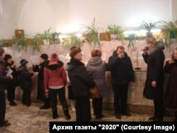 "Пациенты санатория ""Петродворец"""