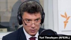 Борис Немцов в студии Радио Свобода