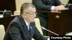 Сенатор Берик Имашев. Фото предоставлено пресс-службой сената парламента Казахстана.