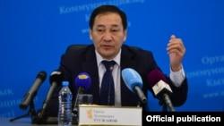 Казакстандын вице-премьери Эралы Тугжанов.