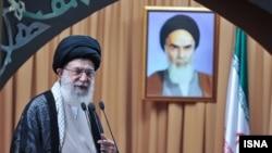 Аятолла Али Хаменеи. Иран, 19 тамыз 2012 жыл.