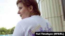 Ольга Романова у Мосгорсуда