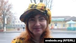 Belarusian opposition activist Anzhela Kambalava