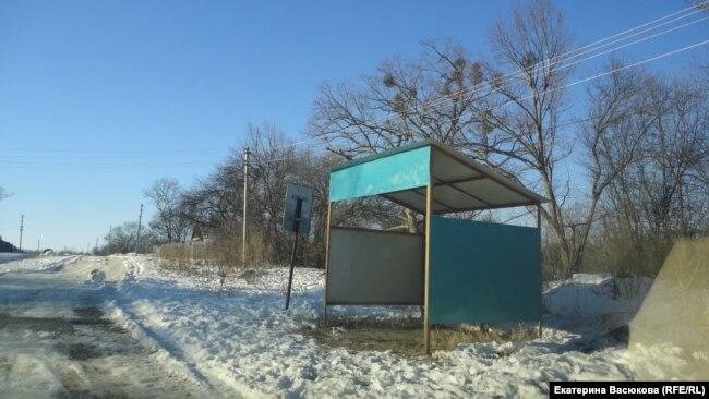 Остановка, построенная китайцами для единственной школьницы села Димитрово