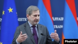 Želimo videti nepovratan napredak ka EU: Johannes Hahn