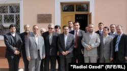 Officials celebrate a week of Iranian culture in Tajikistan.