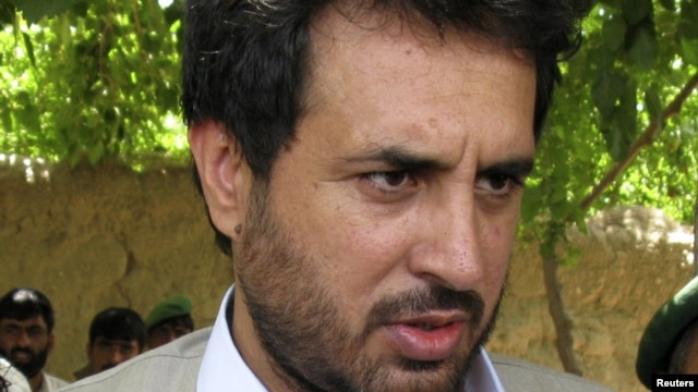 Afghan intelligence chief Asadullah Khalid (file photo)