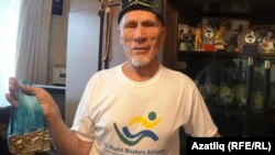 Әгълә Күчемов Бразилиядән алып кайткан алтыннары белән
