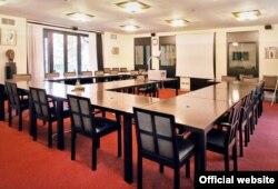 Sala za sastanke u Vili La Collina, foto: kas.de