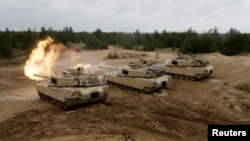Американские танки M1 Abrams