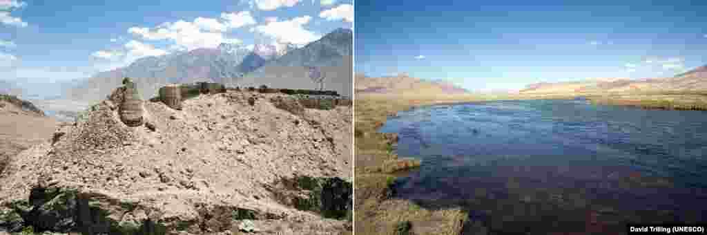 Евразиядәге тауларның бу иң биек урынын ЮНЕСКО үз исемлегенә геологияне өйрәнүдәге кыйммәте өчен кертте. Паркта 1 меңнән артык бозлык, 170 елга, 400 күл бар.