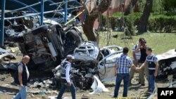 Pamje pas sulmit në Elazig të Turqisë, 18 gusht 2016