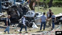 На місці одного з недавніх нападів курдських сепаратистів у Туреччині, ілюстраційне фото