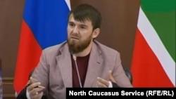 Ислам Кадыров в мае 2016 года