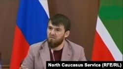 Ислам Кадыров снова в инстаграме