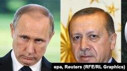 Putin, Erdoan
